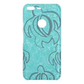 Abstract Turquoise Honu Uncommon Google Pixel XL Case