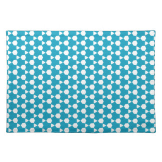 Abstract Turquoise Pattern 1 Placemat