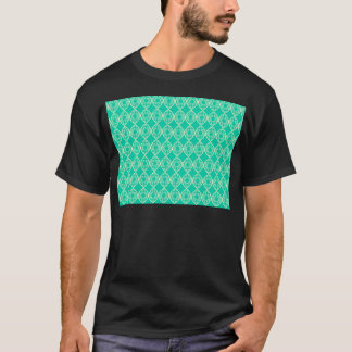 Abstract turquoise T-Shirt