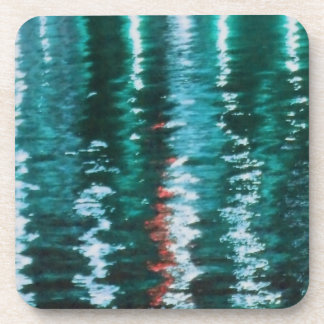 Abstract Turquoise Water Coasters