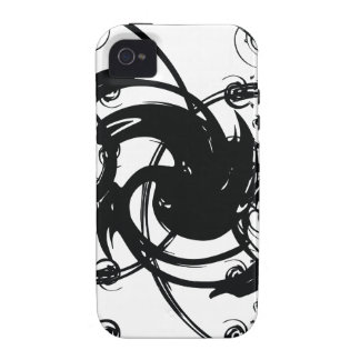 Abstract Twist iPhone 4/4S Case