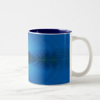 abstract Two-Tone mug