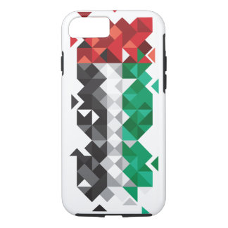 Abstract UAE Flag, United Arab Emirates Case