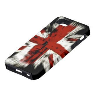 Abstract UK Flag iPhone 5 Cases
