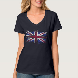 Abstract UK Flag T-Shirt