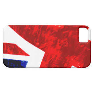 Abstract Union Jack iPhone 5 Case