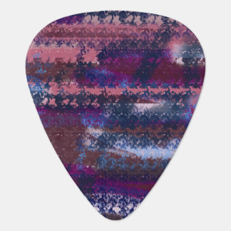 abstract universe guitar pick