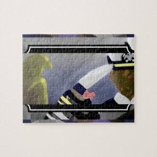 Abstract US Veteran Art Puzzle