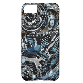 Abstract V-Twin iPhone 5C Cases