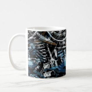 Abstract V-Twin Coffee Mug