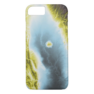 Abstract Variations- California- Blue to Yellow iPhone 8/7 Case