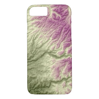 Abstract Variations- California- Green to Purple iPhone 8/7 Case