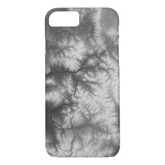 Abstract Variations- Colorado- Black and White Case-Mate iPhone Case