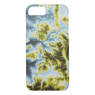 Abstract Variations- Colorado- Blue to Yellow iPhone 8/7 Case