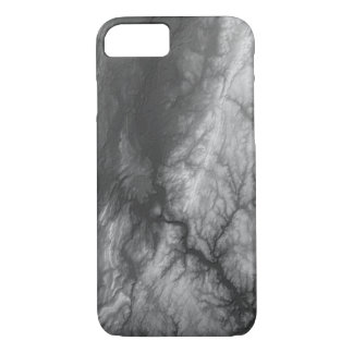 Abstract Variations- Connecticut- Black and White iPhone 8/7 Case