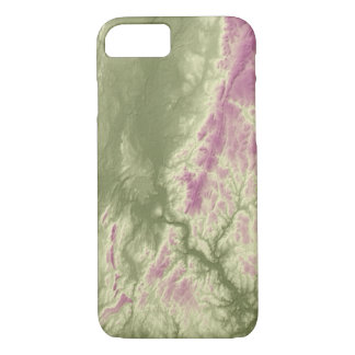 Abstract Variations- Connecticut- Green to Purple iPhone 8/7 Case