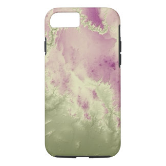 Abstract Variations- Grand Canyon- Green to Purple iPhone 8/7 Case