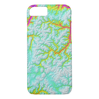 Abstract Variations- Idaho- Tie Dye iPhone 8/7 Case