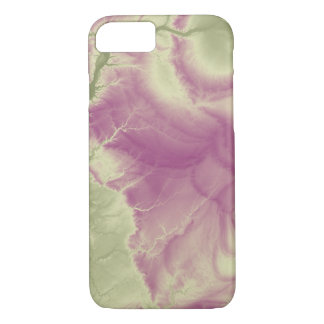 Abstract Variations- Illinois- Green to Purple Case-Mate iPhone Case