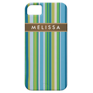 Abstract Vertical with Nameplate Case For The iPhone 5
