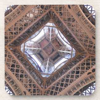 Abstract view of Eiffel Tower Drink Coasters