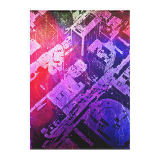 Abstract View of Jackson, MS Acrylic Wall Art