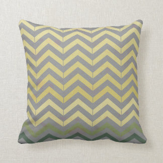 Abstract Vintage Lines Throw Pillow