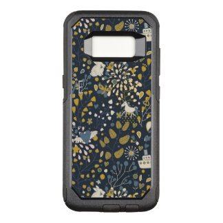 Abstract vintage pattern OtterBox commuter samsung galaxy s8 case
