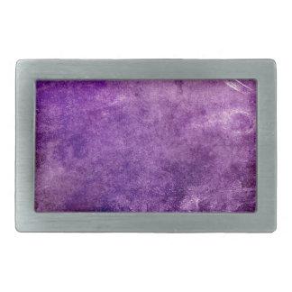 Abstract violet belt buckle