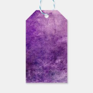 Abstract violet gift tags