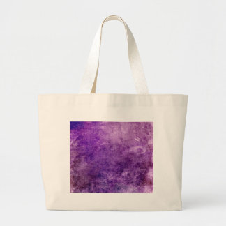 Abstract violet large tote bag