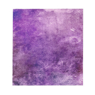 Abstract violet notepad