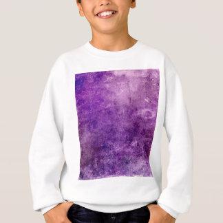 Abstract violet sweatshirt