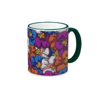 Abstract Violets - Mug #2