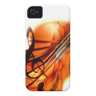 Abstract Violin Art iPhone 4 Covers