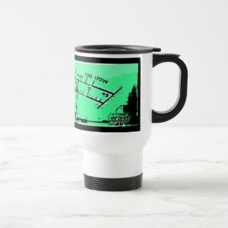 Abstract VU meter 15 Oz Stainless Steel Travel Mug