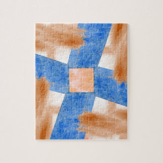 Abstract Wall and Sky Jigsaw Puzzle