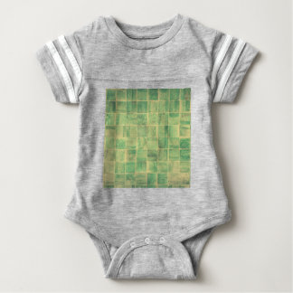 Abstract wall baby bodysuit