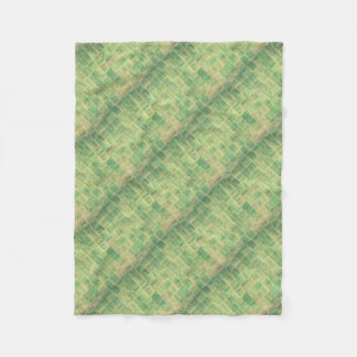 Abstract wall fleece blanket
