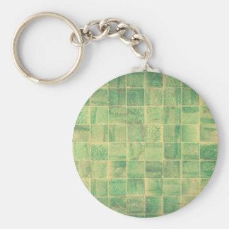 Abstract wall keychain