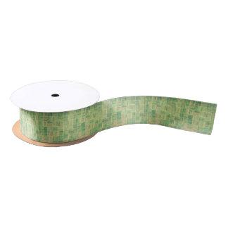 Abstract wall satin ribbon