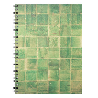 Abstract wall spiral notebook