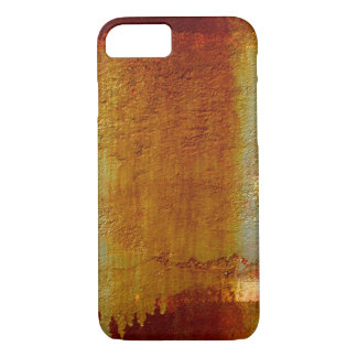 ABSTRACT WALL TEXTURE RUSTY iPhone 7 HARD CASE