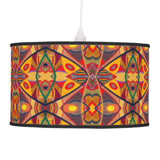 Abstract Warm Autumn - Light Ceiling Pendant Lamp