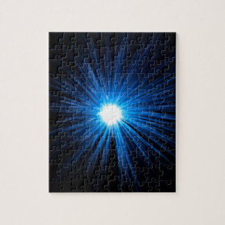 Abstract warp speed. jigsaw puzzle