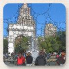 Abstract Washington Square Park New York Coaster