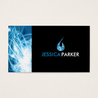 Abstract - Water Business Card