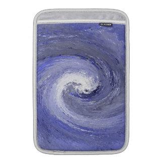 Abstract Water whirl whirlpool – Blue MacBook Sleeve