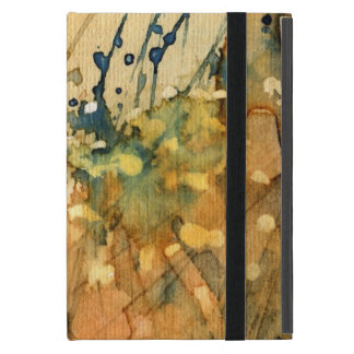 Abstract watercolor and old background case for iPad mini