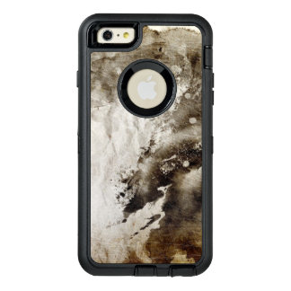 Abstract watercolor background on grunge paper OtterBox iPhone 6/6s plus case